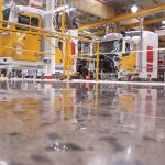 Truck Maker Upgrades to Polished Concrete